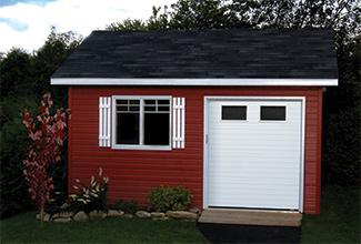 Garage Door Shed